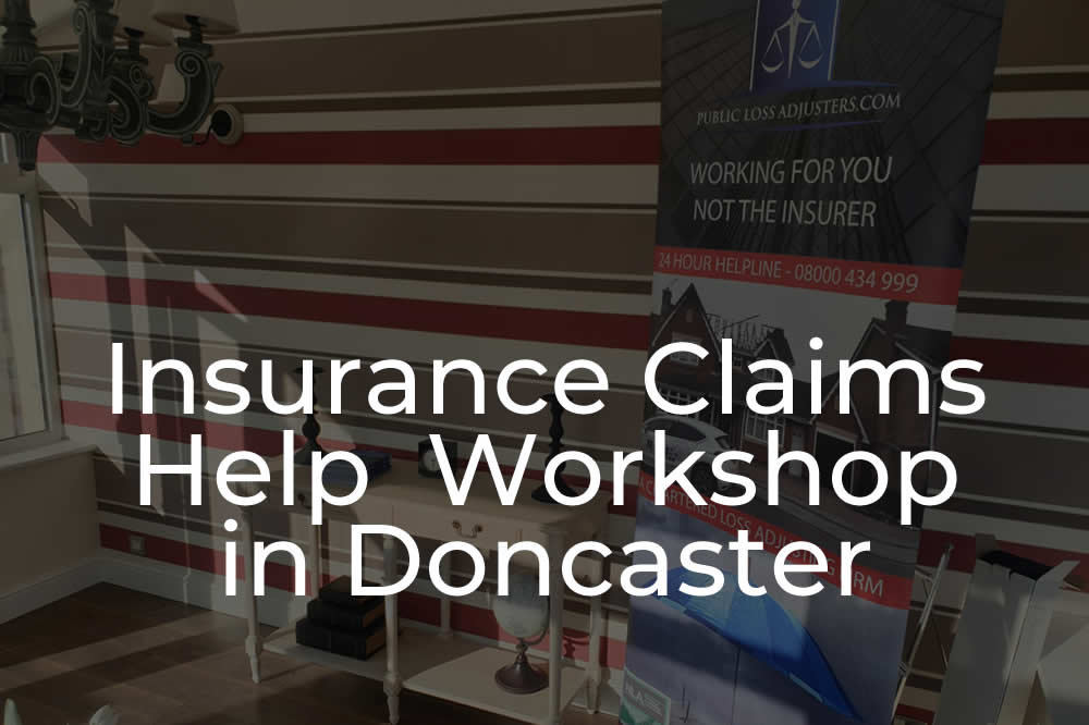 Flood insurance claims help in Doncaster