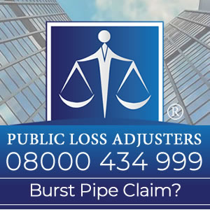 Need help with a burst pipe claim? Public Loss Adjusters can help